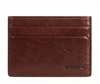 Boconi Becker Collection RFID Weekender ID Card Case in Whiskey with Aspen