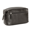 Boconi Tyler Tumbled Cargo Travel Kit in Black