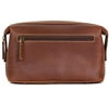 Boconi Bryant Cargo Travel Kit in Mahogany