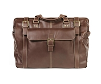 Boconi Bryant Safari Bag in Mahogany