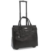 Cabrelli Piper Pebble Laptop Rollerbrief in Black
