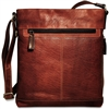 Jack Georges Voyager CrossBody Bag in Brown