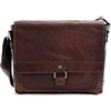 Jack Georges Voyager Messenger Bag in Brown