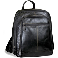 Jack Georges Voyager Laptop Backpack in Black