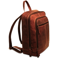 Jack Georges Voyager Laptop Backpack in Brown