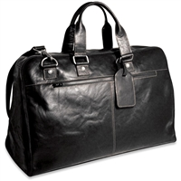 Jack Georges Voyager Large Convertible Valet Bag in Black