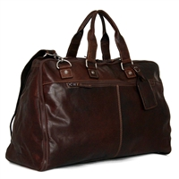 Jack Georges Voyager Large Convertible Valet Bag in Brown