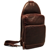 Jack Georges Voyager Sling Bag in Brown