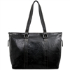 Jack Georges Voyager Shopper Tote in Black