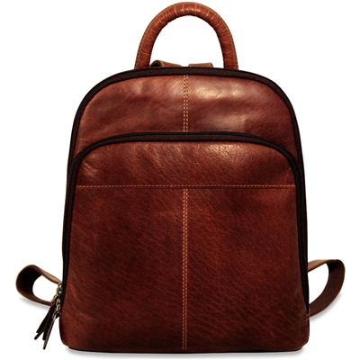 Jack Georges Voyager Small Backpack in Brown