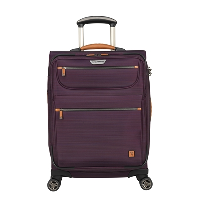 "Ricardo San Marcos 21"" Carry-On Spinner Upright in Violet"