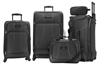 Skyway 5 Piece Travel Set in Black