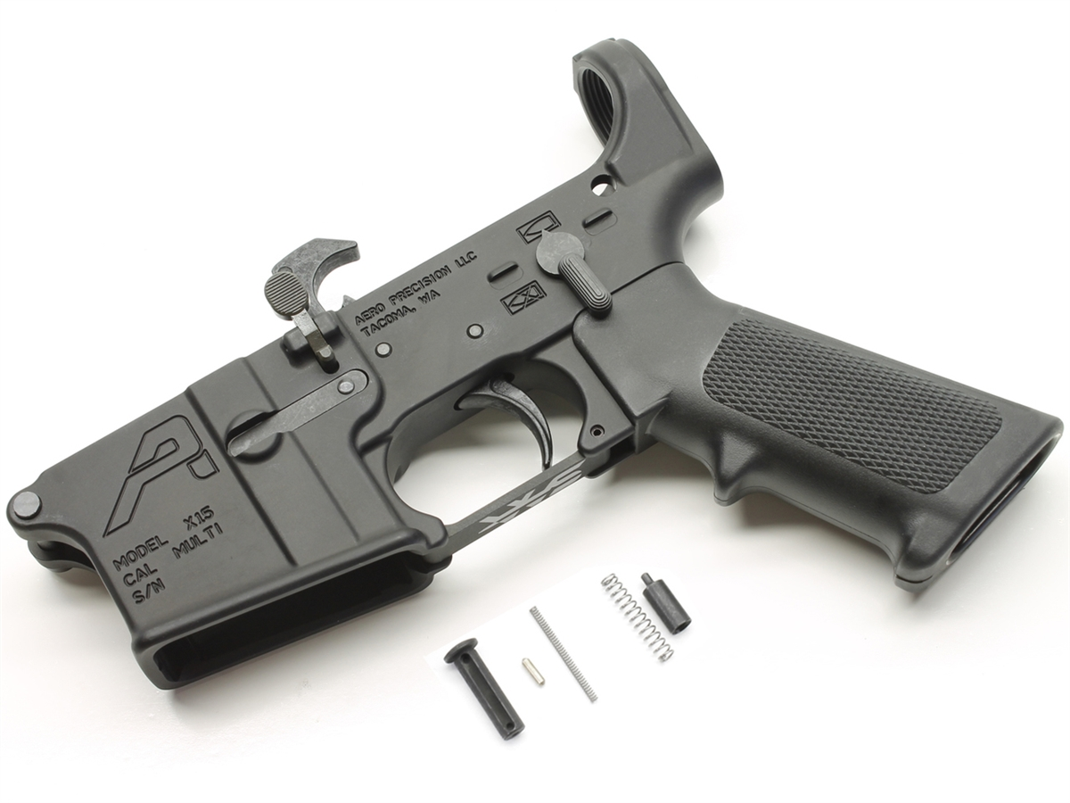 Image result for Aero Precision AR-15 Stripped Lower Receiver, Gen 2 - Anodized Black