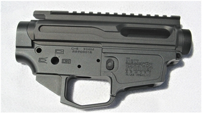 New Frontier Armory C-5 stripped billet lower and upper receiver set