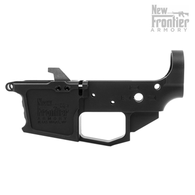 BILLET 9mm LOWER RECEIVER, GLOCK-MAG DEDICATED