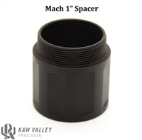 "Kaw Valley Precision MACH Modular Linear Comp 1"" Spacer"
