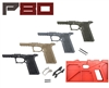 80% PF940V2 FRAME TEXTURED 9MM/40SW G17/22/33/34/35