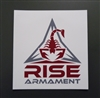 RISE ARMAMENT STICKER