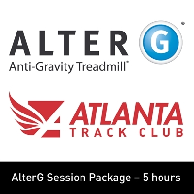 6. AlterG Session Package - 5 Hours - Member WITH PANT RENTAL