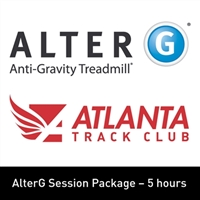 8. AlterG Session Package - 5 Hours - Non-Member WITH PANT RENTAL