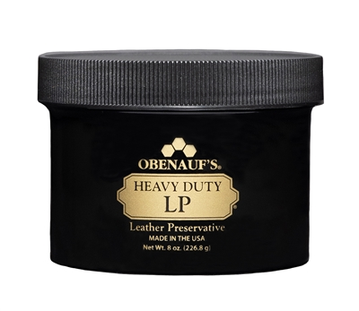 Heavy Duty LP 8 ounce black jar with screw-on lid.