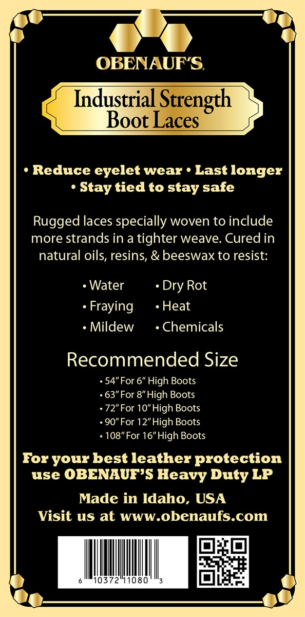 7e3420e8d7df4 Industrial Strength Waxed Boot Laces Keep Your Boots Secure and Comfortable