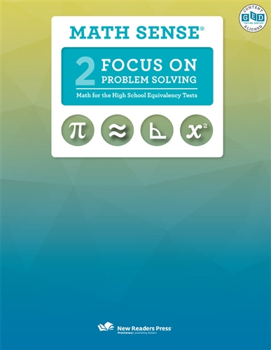 Math Sense: Focus on Problem Solving | Official GED Marketplace