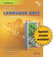 steck vaughn ged test prep student workbook language arts