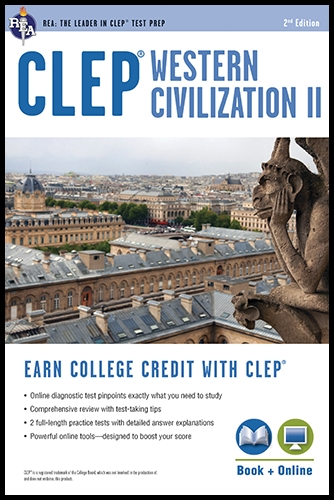 CLEP Western Civilization II 2nd Ed With Online Practice Tests