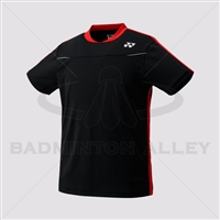 Yonex 10178EX Men Crew Neck Shirt (Color: Black)