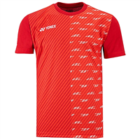 Yonex 16420-EX Lee Chong Wei Replica Game Shirt - Dark Red