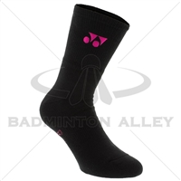 Yonex 1855YX Black Pink Grand Slam Sport Crew Socks ( Japan )