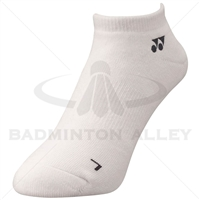 Yonex 19121EX Sport Low Cut Socks White (Made in Japan)