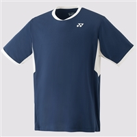 Yonex YM0010EX Men Crew Neck Shirt (Color: Navy)