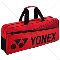 Yonex 42031W Red Tournament Racket Bag
