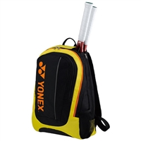 Yonex 7312EX Black Yellow Backpack Bag