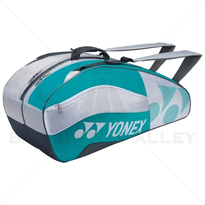 Yonex 8526-EX White Aqua Tournament Active Badminton Tennis Bag