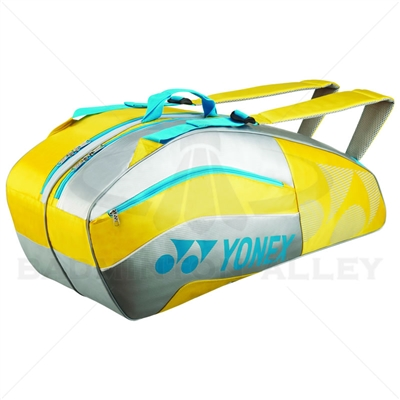 Yonex 8526-EX Yellow Tournament Active Badminton Tennis Bag