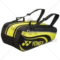 Yonex 8829EX Black Lime Tournament Active Badminton Tennis Bag