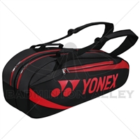 Yonex 8926EX Black Red Tournament Active Badminton Tennis Thermal Bag