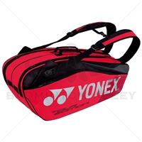 Yonex 9826 EX Pro Flame Red Badminton Tennis Racket Bag