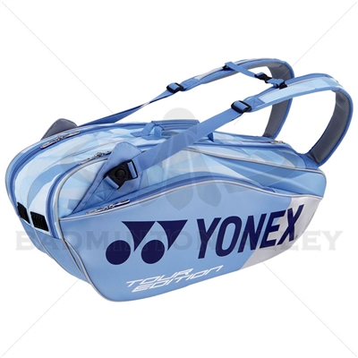 Yonex 9826 LX Pro Clear Blue Badminton Tennis Racket Bag