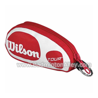 Wilson Mini Souvenir Coin Red White Bag with Keychain