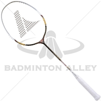 Pro Kennex Nano F1 White Black Badminton Racket