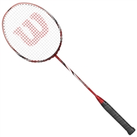 Wilson Fierce 300 Red 5UG4 Badminton Racket