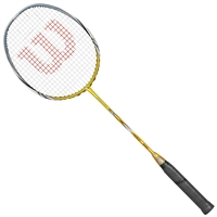 Wilson Fierce CX5000 Gold 4UG5 Badminton Racket