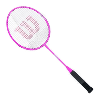 WILSON Pink Junior (23 inches) Badminton Racket