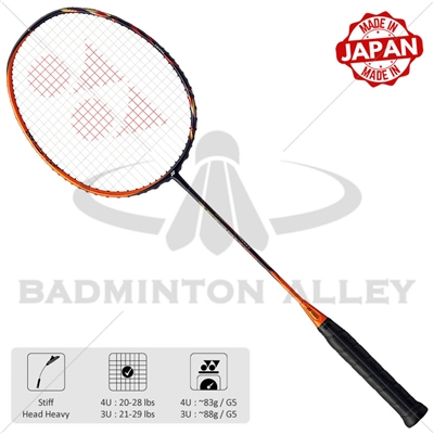 Yonex Astrox 99 (AX99) 4UG5 Sunshine Orange Badminton Racket