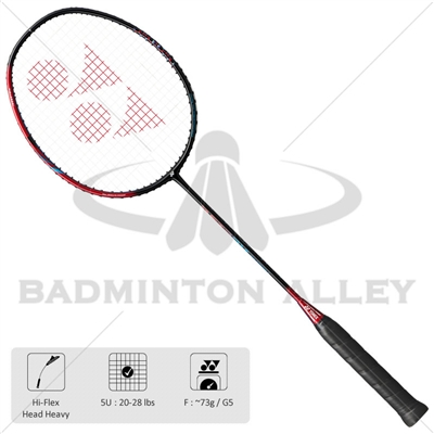 Yonex Astrox Smash (AXSM) F5 Black Flame Red Badminton Racket