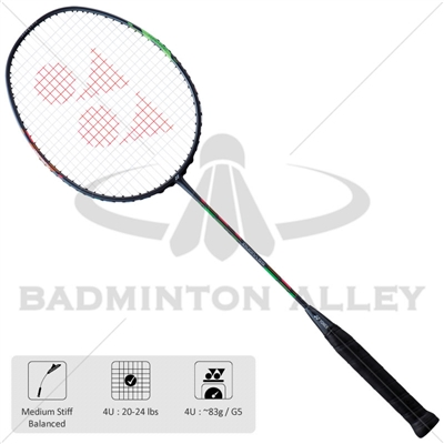 Yonex Duora 55 Dark Grey (Duo55-4UG5) Badminton Racket